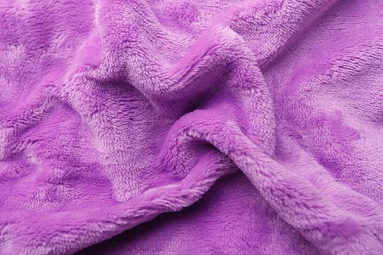 Obrázok z Prostěradlo mikroflanel fialová 90x200x20 cm