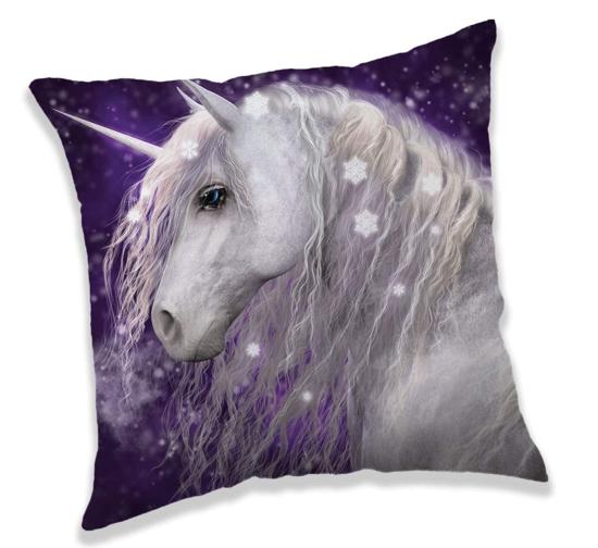 Obrázok z Polštářek Unicorn purple 40x40 cm