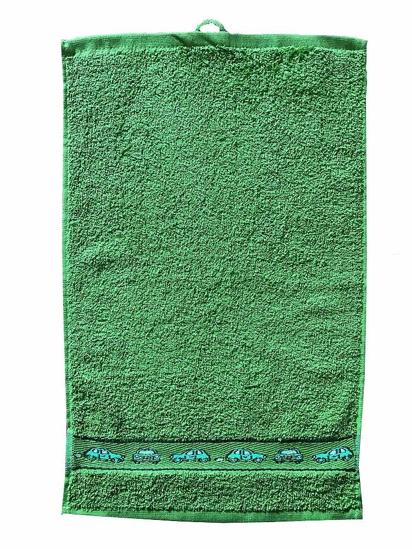 Obrázok z Dětský ručník Kids 30x50 cm green