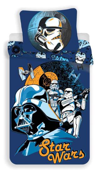 Obrázok z Povlečení bavlna Star Wars blue 140x200, 70x90 cm