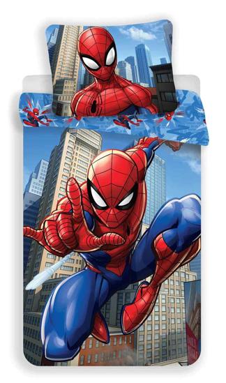 Obrázok z Povlečení Spiderman blue 02 140x200, 70x90 cm