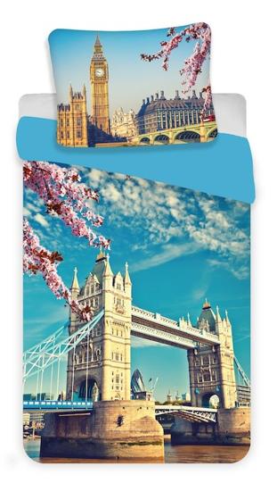 Obrázok z Povlečení fototisk London blue 140x200, 70x90 cm