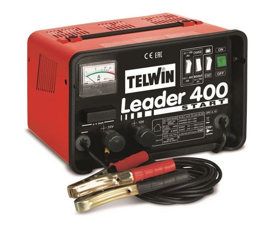 Obrázok z Nabíjačka autobatérií s podporou pri štarte Leader 400 Štart Telwin