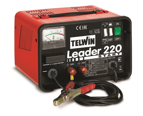 Obrázok z Nabíjačka autobatérií Telwin Leader 220 Štart
