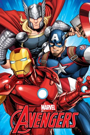 Obrázok z Dětská fleecová deka Avengers 100x150 cm