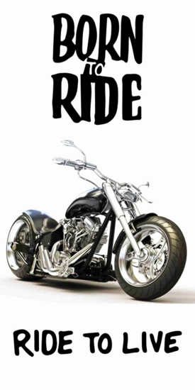 Obrázok z Osuška Motorbike 70x140 cm