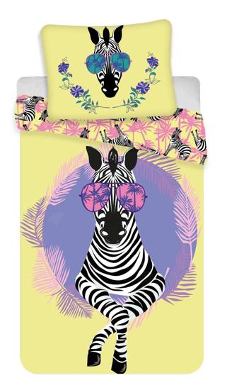 Obrázok z Povlečení fototisk Zebra 140x200, 70x90 cm