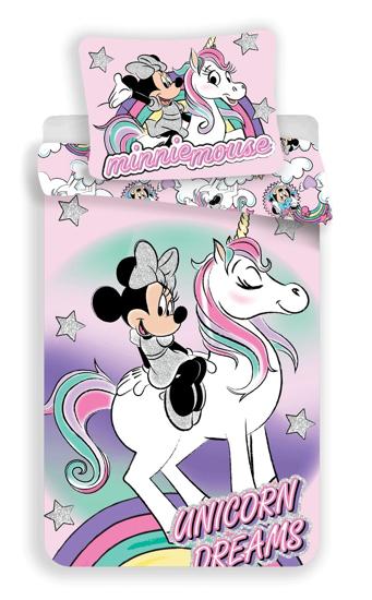 Obrázok z Povlečení Minnie unicorn 140x200, 70x90 cm