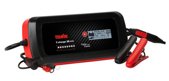 Obrázok z Microprocesorová nabíjačka T-Charge 26 EVO Telwin