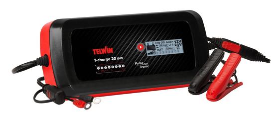 Obrázok z Microprocesorová nabíjačka T-Charge 20 EVO Telwin