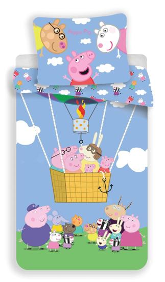 Obrázok z Povlečení Peppa Pig 001 140x200, 70x90 cm