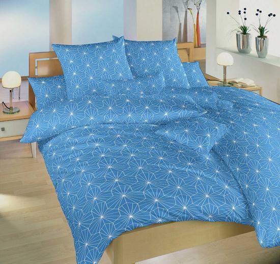 Obrázok z Povlečení krep Krystal modrý 140x200, 70x90 cm