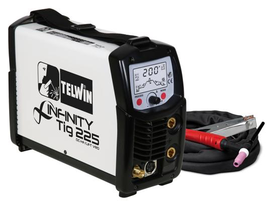 Obrázok z Zváračka TIG Infinity TIG 225 DC-HF/LIFT/MMA Telwin