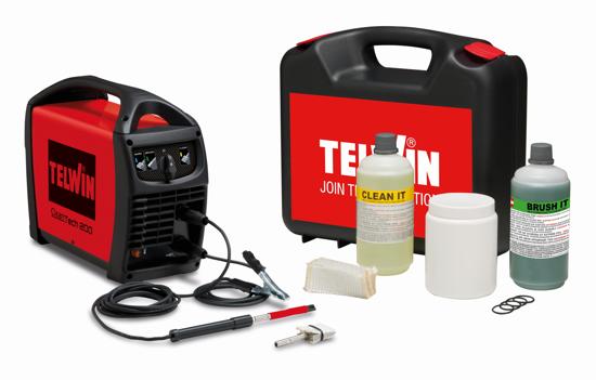 Obrázok z Čistič nerezových zvarov CleanTech 200 Telwin