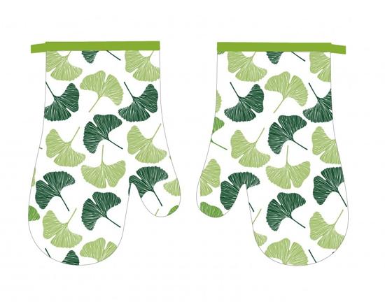 Obrázok z Kuchyňská chňapka 2 ks Ginkgo zelené