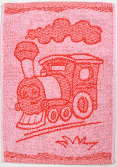 Obrázok z Dětský ručník Train red 30x50 cm
