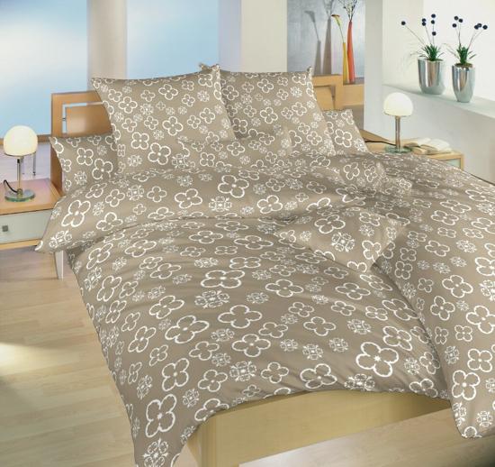 Obrázok z Povlečení bavlna Čtyřlístek bílý 140x200 cm povlak
