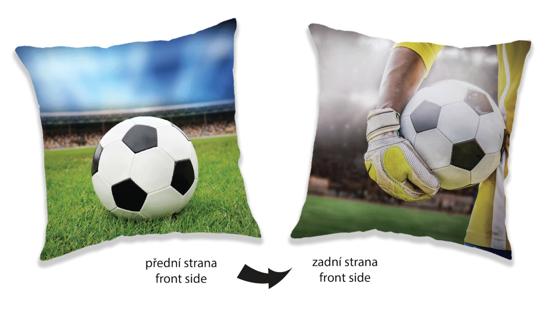 Obrázok z Polštářek Fotbal two sides 40x40 cm