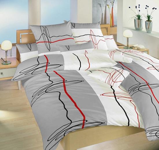 Obrázok z Povlečení bavlna Provázky 140x200, 70x90 cm II.jakost