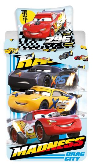Obrázok z Povlečení Cars Madness 140x200, 70x90 cm