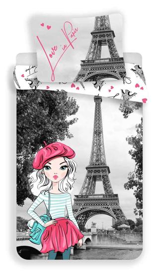 Obrázok z Povlečení Paris grey 140x200, 70x90 cm