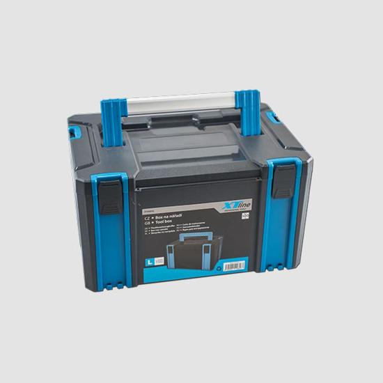 Obrázok z Plastový box TOOLSTATION L 443x310x248mm