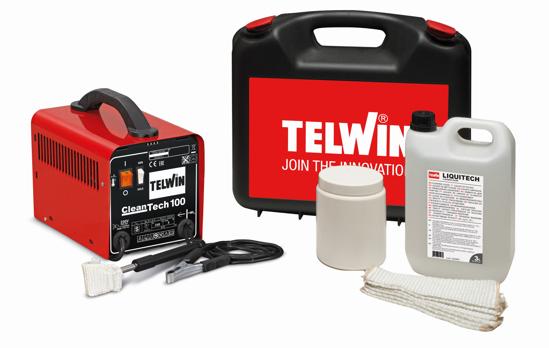 Obrázok z Čistič nerezových zvarov CleanTech 100 Telwin