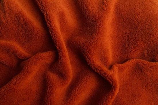 Obrázok z Prostěradlo mikroflanel terakota
