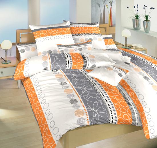 Obrázok z Povlečení bavlna Ateliér oranžový 140x200, 70x90 II.jakost