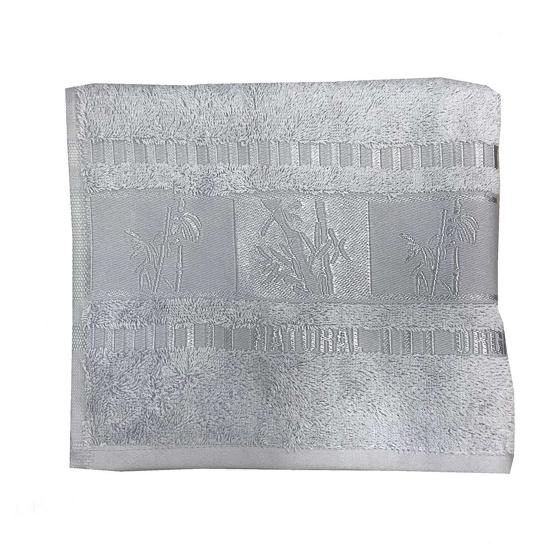 Obrázok z Ručník Bamboo deluxe organic 50x90 cm šedý