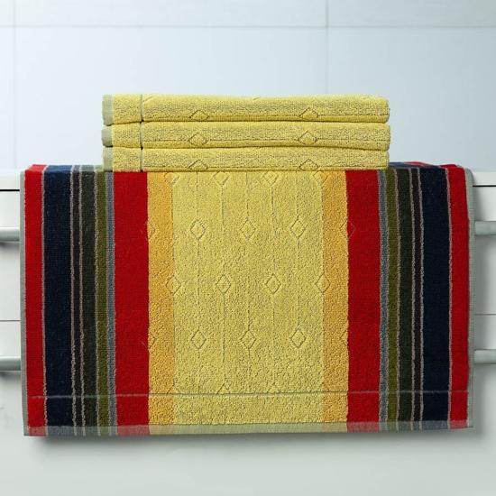 Obrázok z Pracovní ručník Vebzara žlutá 55x100 cm