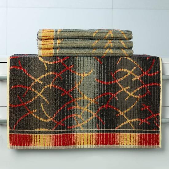 Obrázok z Pracovní ručník Vebzara vlnky 55x100 cm