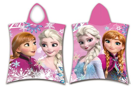Obrázok z Pončo Frozen sisters 50x115 cm