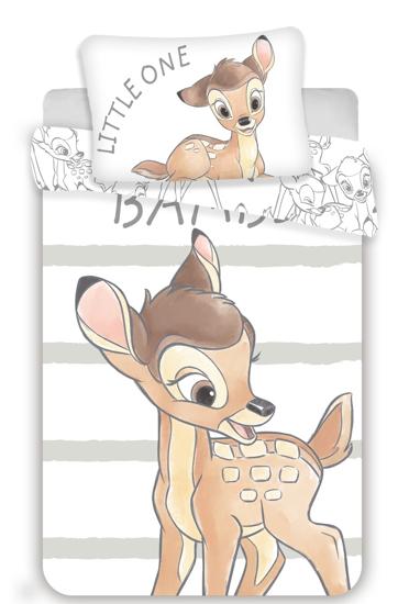 Obrázok z Disney povlečení do postýlky Bambi stripe baby 100x135, 40x60 cm
