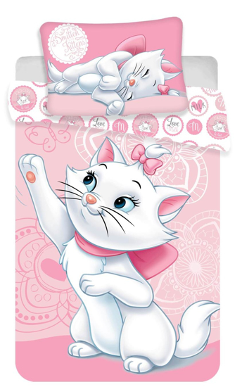 Obrázok z Disney povlečení do postýlky Marie cat baby 100x135, 40x60 cm