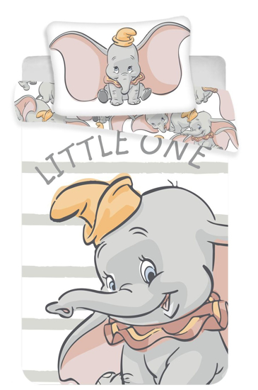 Obrázok z Disney povlečení do postýlky Dumbo baby 100x135, 40x60 cm