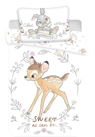 Obrázok z Disney povlečení do postýlky Bambi sweet baby 100x135, 40x60 cm