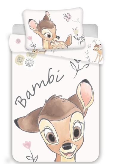 Obrázok z Disney povlečení do postýlky Bambi baby 100x135, 40x60 cm