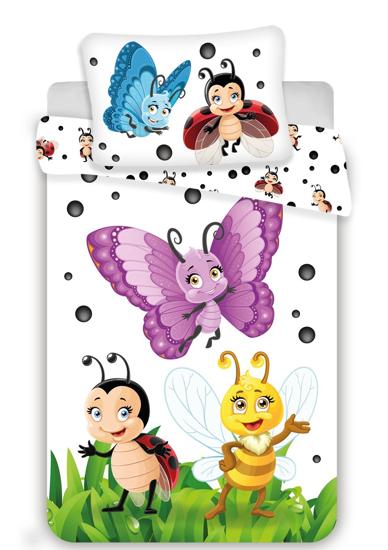 Obrázok z Disney povlečení do postýlky Berušky baby 100x135, 40x60 cm