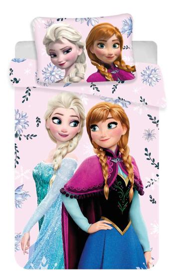 Obrázok z Disney povlečení do postýlky Frozen baby Floral 100x135, 60x40 cm