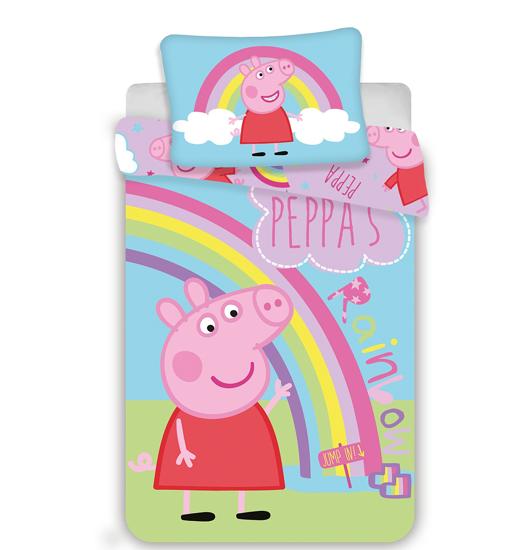 Obrázok z Disney povlečení do postýlky Peppa Pig 016 baby 100x135, 40x60 cm