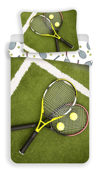 Obrázok z Povlečení fototisk Tenis 140x200, 70x90 cm