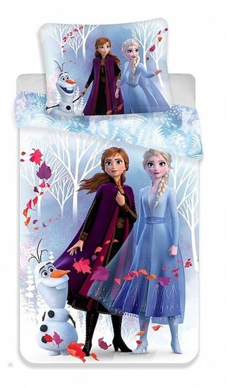 Obrázok z Povlečení Frozen 2 White 140x200, 70x90 cm
