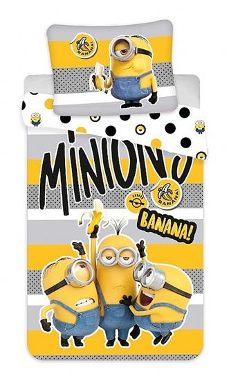 "Obrázok z Povlečení bavlna Mimoni 2 ""Banana!"" 140x200, 70x90 cm"