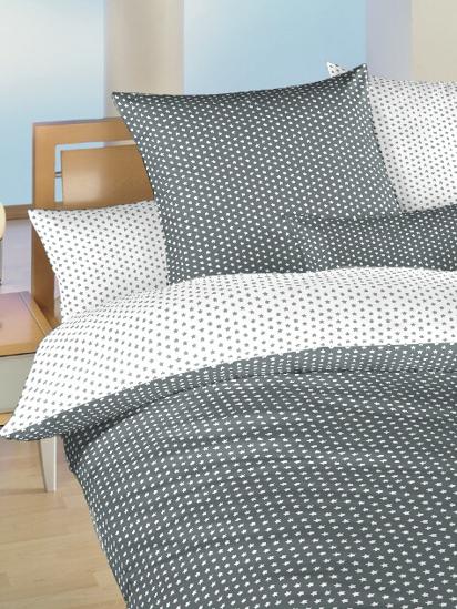 Obrázok z Povlečení bavlna do postýlky Hvězdička bílá/šedá DUO 90x130, 45x60 cm