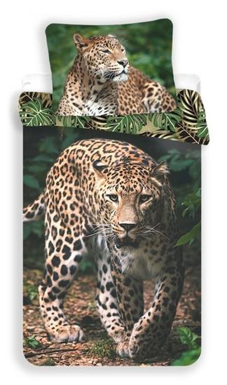 Obrázok z Povlečení fototisk Leopard green 140x200, 70x90 cm