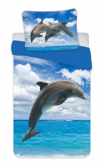 Obrázok z Povlečení fototisk Delfín 02 140x200, 70x90 cm