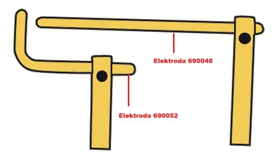 Obrázok z Elektróda pre čelusti XA3 Telwin 690046