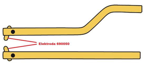 Obrázok z Elektróda pre čelusti XA8 Telwin 690050
