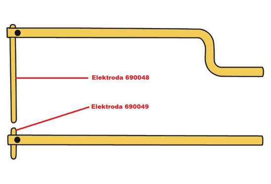 Obrázok z Elektróda pre čelusti XA9 Telwin 690048